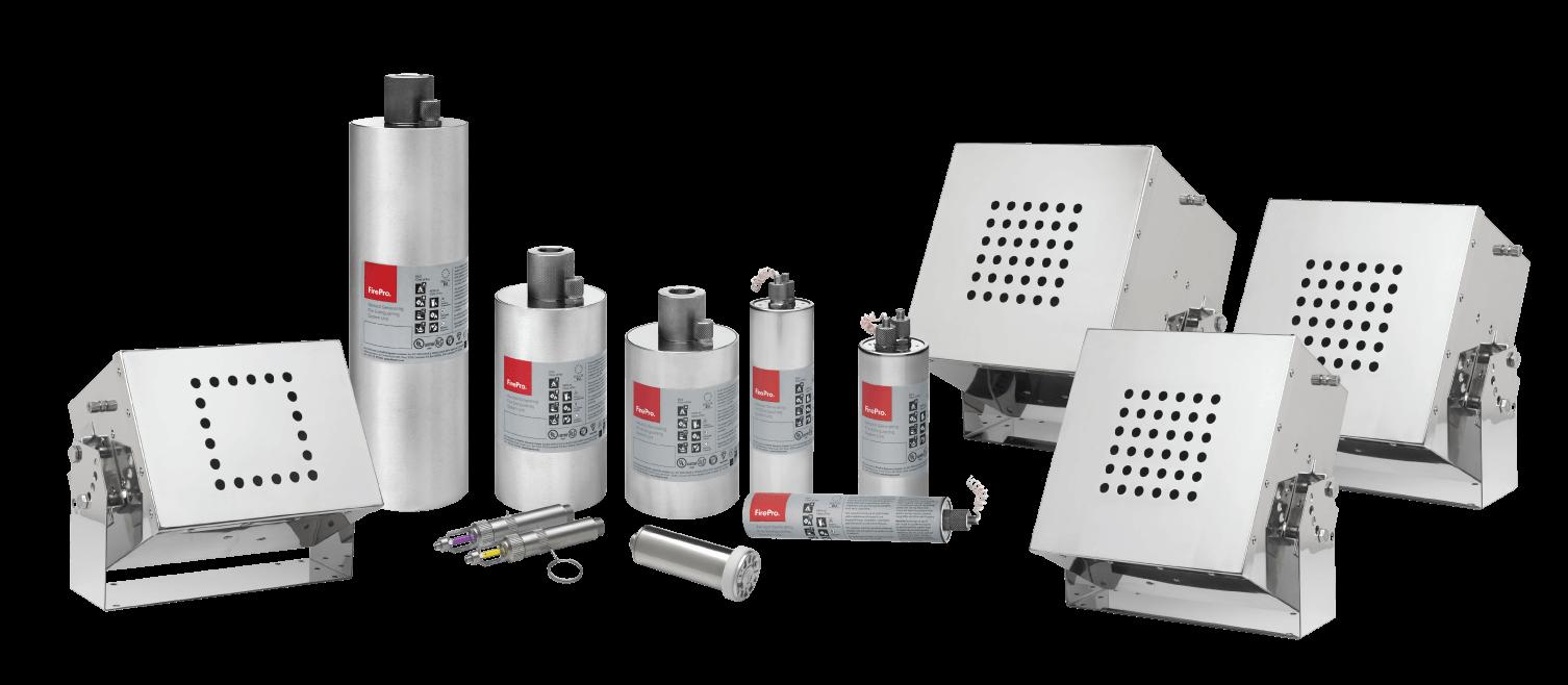 FirePro – Sistemas de Combate a Incêndio por Aerossol de Potássio