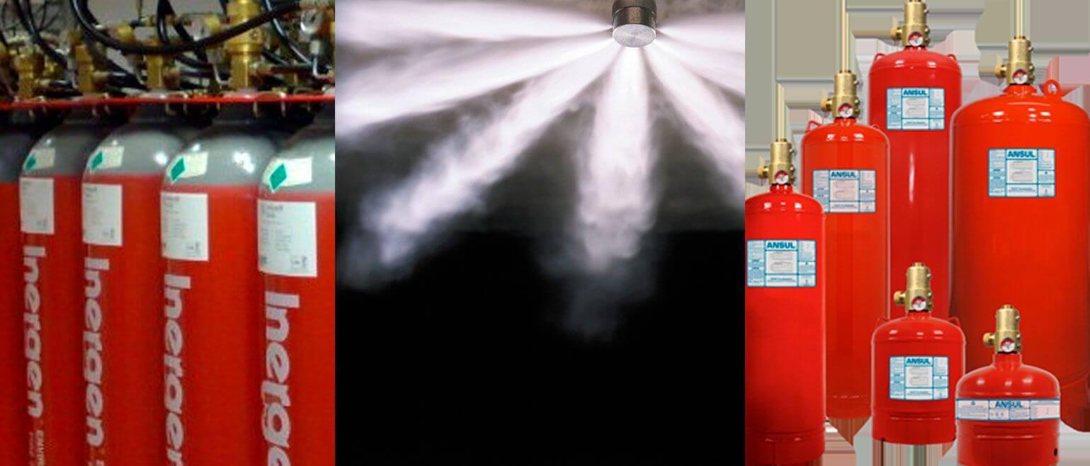 Sistema de Combate a Incêndio por Gases Limpos