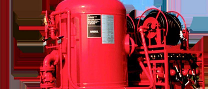 Sistemas de Combate a Incêndio por Pó-Químico